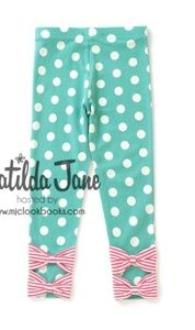NWT Matilda Jane Once Upon A Time Size 10 GUESS THE RIDDLE BENNYS Leggings Pant